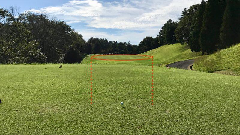 GEN-TENゴルフコースレッスンティインググラウンドからフェアウェイの写真