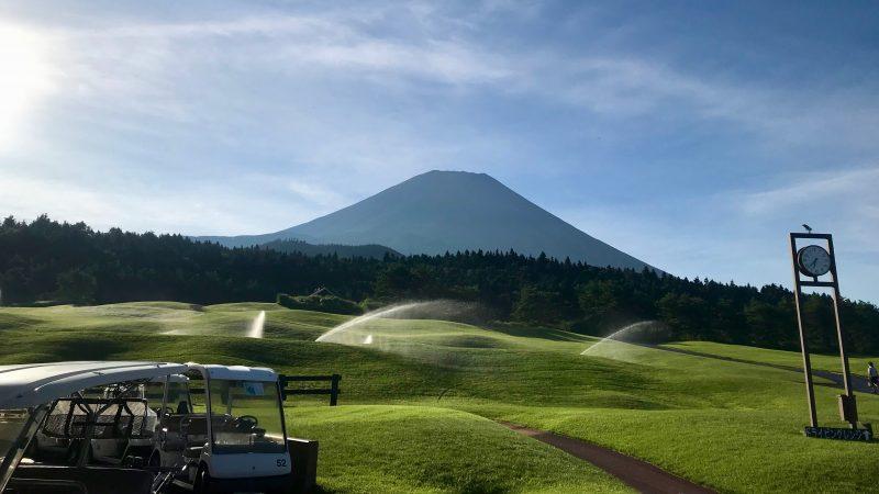 GEN-TENゴルフコースレッスン富士クラシック富士山の写真