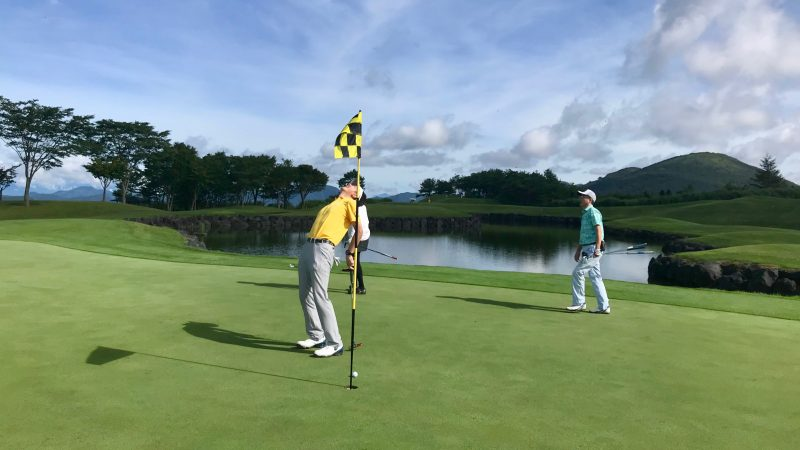 GEN-TENゴルフコースレッスン富士クラシックパッティングの写真