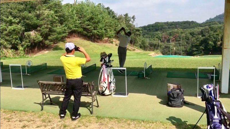 GEN-TENゴルフコースレッスン動画撮影の写真
