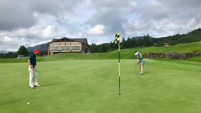 GEN-TENゴルフコースレッスン富士クラシックパッティングの写真②