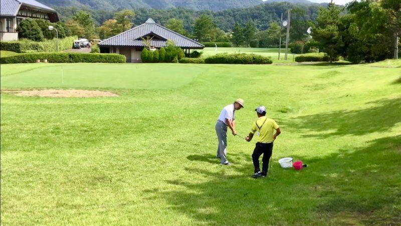 GEN-TENゴルフコースレッスンアプローチレッスンの写真
