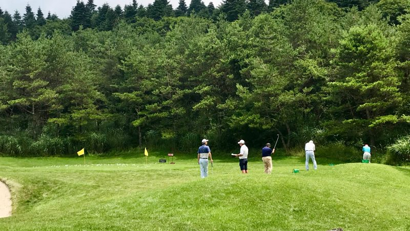GEN-TENゴルフコースレッスン富士クラシックアプローチエリアの写真