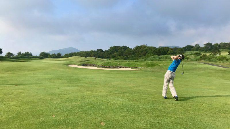 GEN-TENゴルフコースレッスン富士クラシックセカンドショットの写真