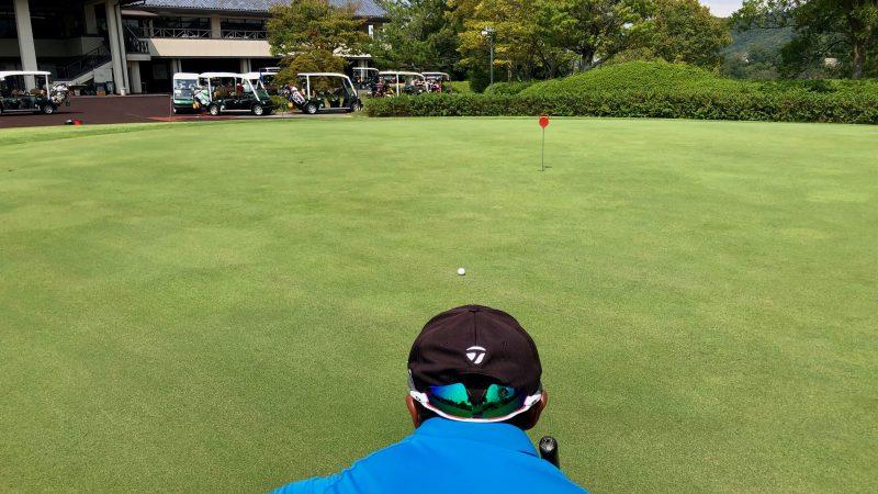 GEN-TENゴルフコースレッスンパッティングの方向性スライスラインの写真