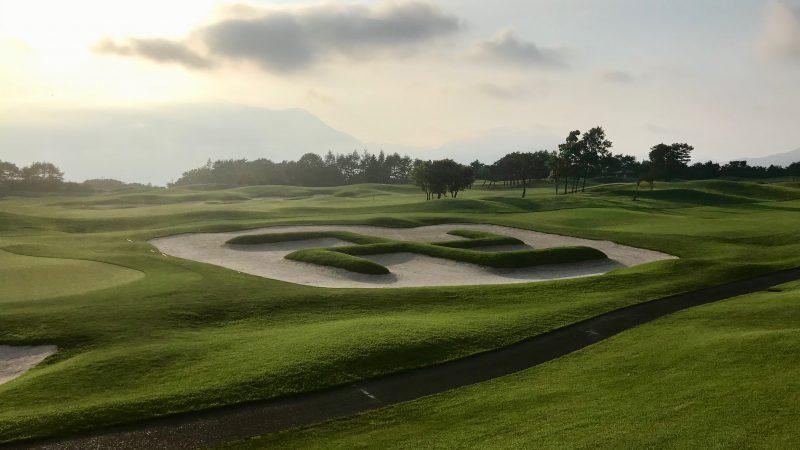 GEN-TENゴルフコースレッスン富士クラシック卍バンカーの写真