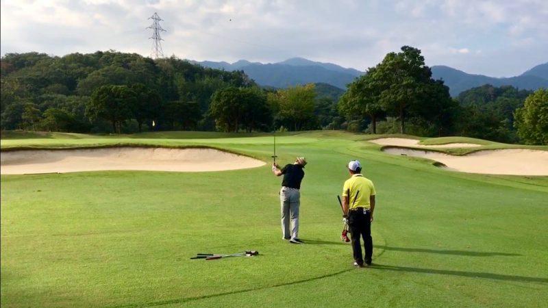 GEN-TENゴルフコースレッスン12番サードショットの写真