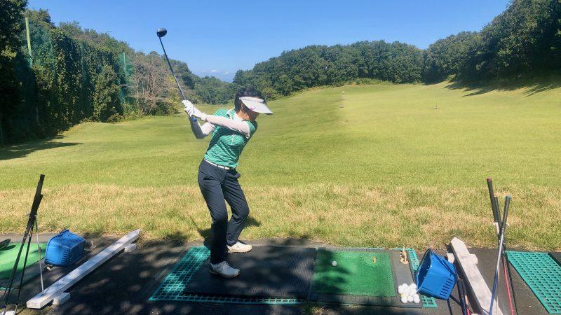 GEN-TENゴルフコースレッスンヒントレッスン打球練習の写真②