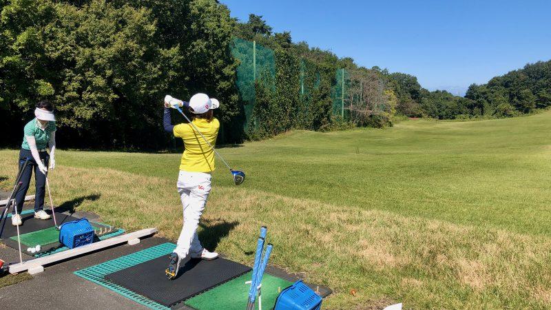 GEN-TENゴルフコースレッスンヒントレッスン打球練習の写真③