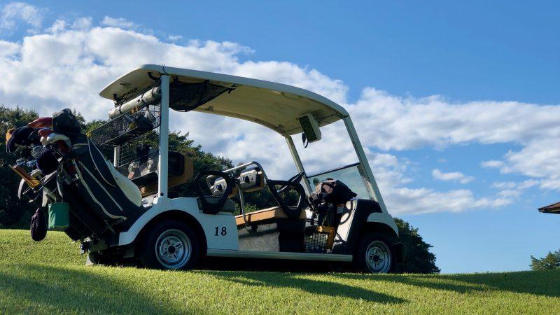 GEN-TENゴルフコースレッスンヒントレッスンカートの写真