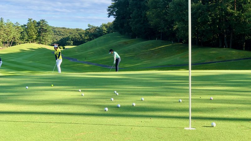 GEN-TENゴルフコースレッスンヒントレッスン定点練習アプローチの写真