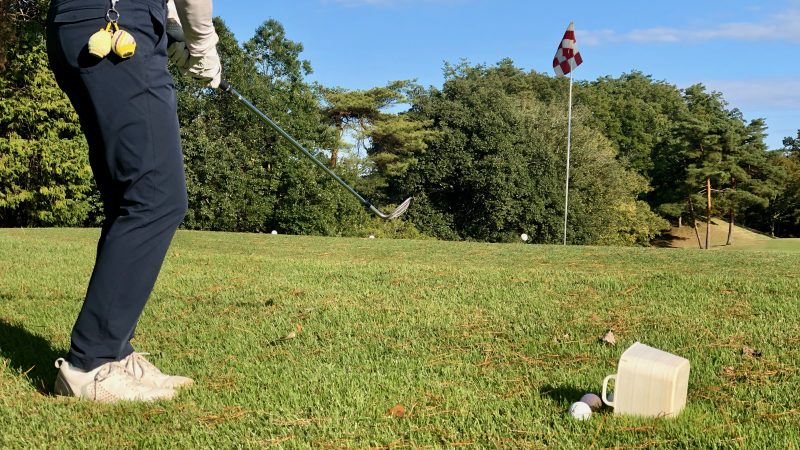 GEN-TENゴルフコースレッスンヒントレッスン定点練習アプローチアップの写真