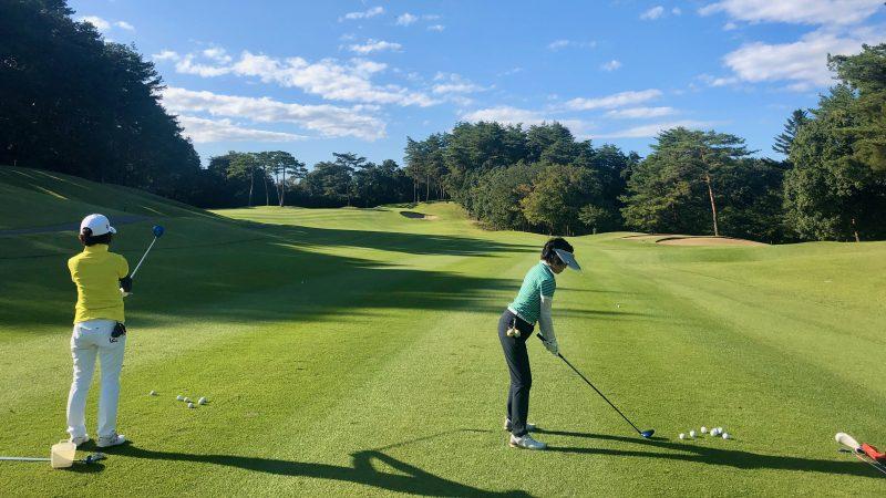 GEN-TENゴルフコースレッスンヒントレッスン定点練習フェアウェイウッドの写真