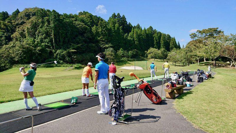 GEN-TENゴルフコースレッスンチャーター大多喜城GCロングゲームレッスンの写真