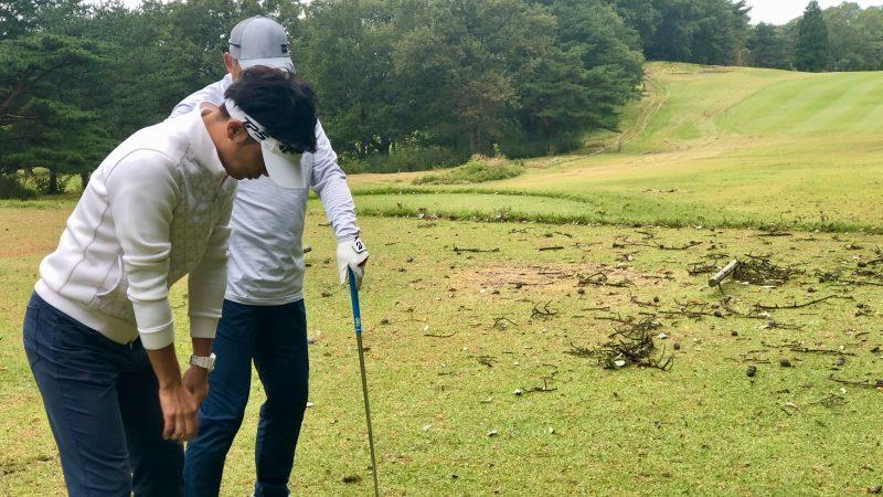 GEN-TENゴルフコースレッスントライフィールド朝練ロングゲーム練習の写真