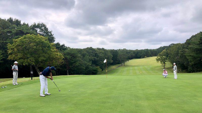 GEN-TENゴルフコースレッスン那須国際CCラウンドパッティングの写真