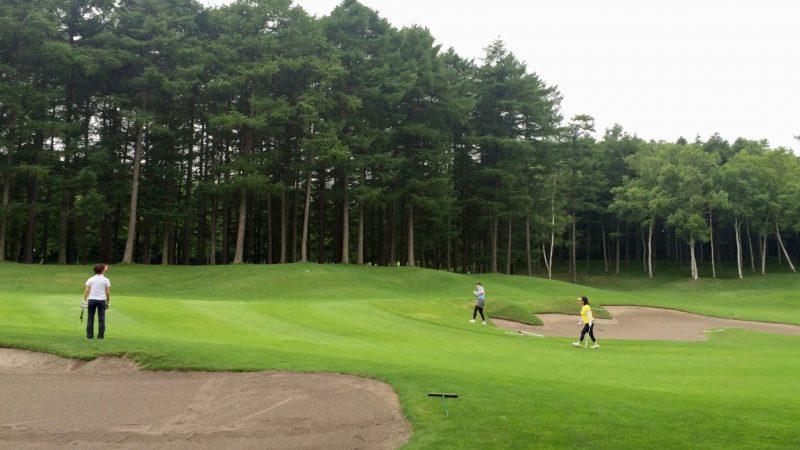 GEN-TENゴルフコースレッスンスコアアップショートゲーム花道の写真