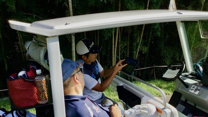 GEN-TENゴルフコースレッスンハーフラウンド千刈CCスイングチェックの写真