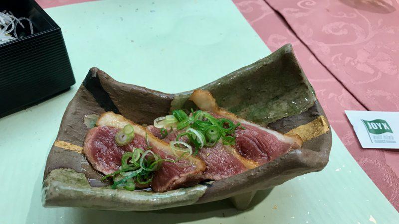 GEN-TENゴルフコースレッスンDC@JOYXGC夕食牛肉の写真