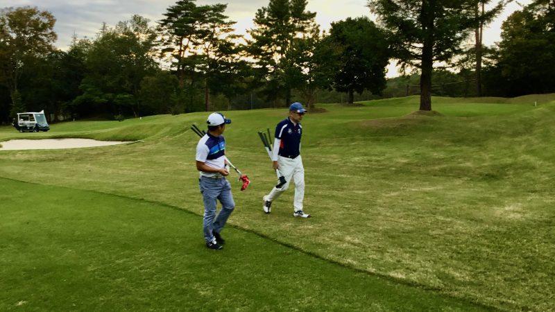 GEN-TENゴルフコースレッスンハーフラウンド千刈CC雑談の写真