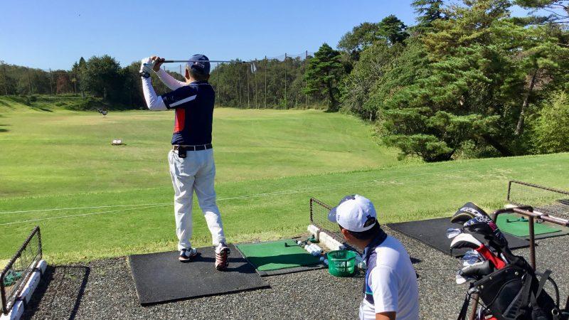 GEN-TENゴルフコースレッスンハーフラウンド千刈CCロングゲームレッスンの写真
