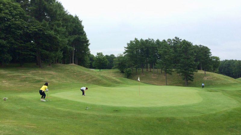 GEN-TENゴルフコースレッスンスコアアップショートゲームグリーンの写真