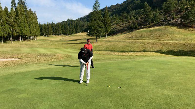 GEN-TENゴルフコースレッスンDC@JOYXGCバーディパットの写真