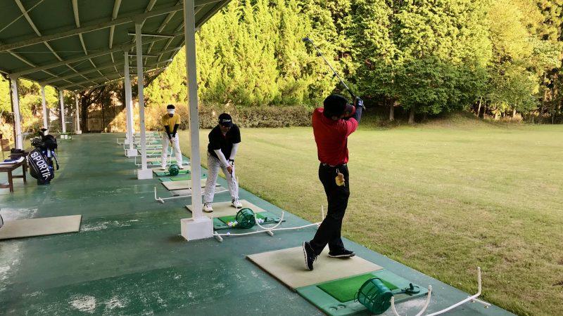 GEN-TENゴルフコースレッスンDC@JOYXGCホールアウト後練習の写真