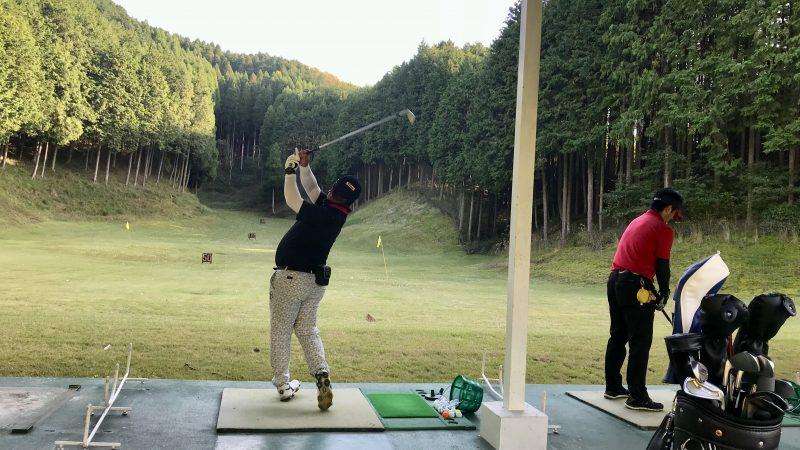 GEN-TENゴルフコースレッスンDC@JOYXGC追い込み練習の写真