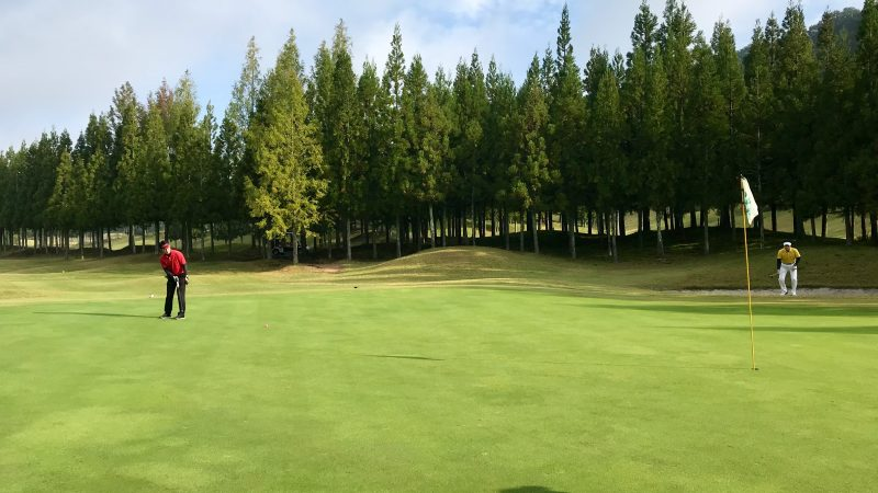 GEN-TENゴルフコースレッスンDC@JOYXGCロングパットの写真