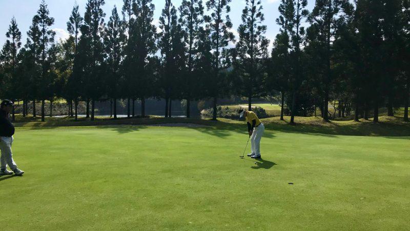 GEN-TENゴルフコースレッスンDC@JOYXGCミドルパットの写真