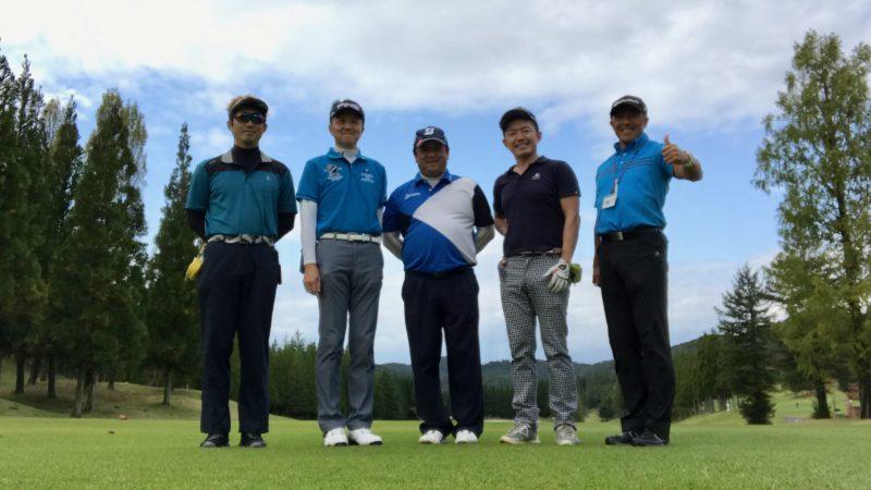 GEN-TENゴルフコースレッスンDC@JOYXGC集合写真