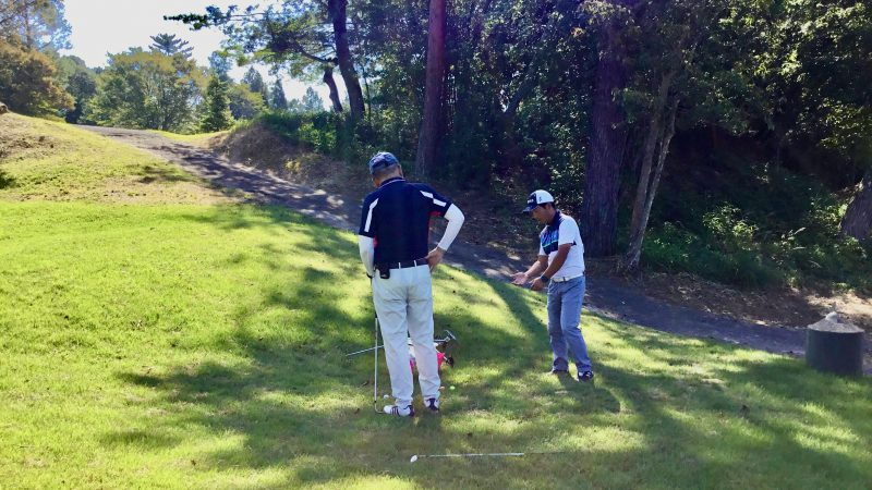 GEN-TENゴルフコースレッスンハーフラウンド千刈CCショートゲームレッスンの写真