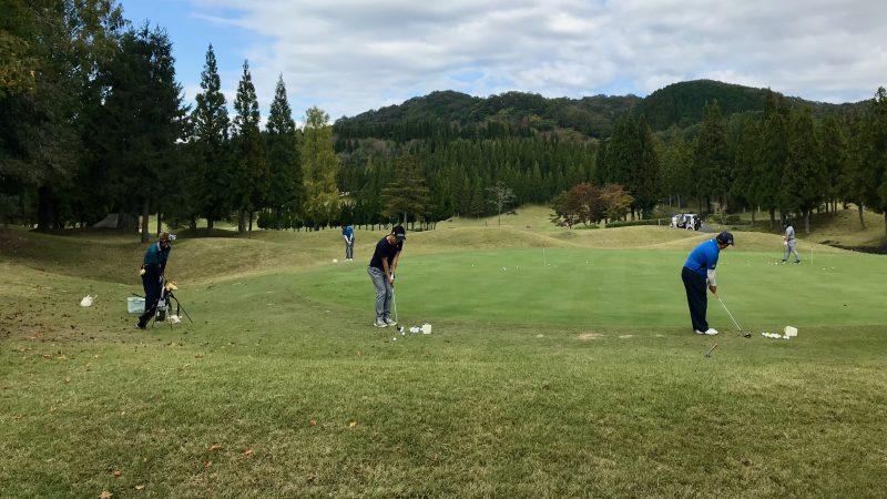 GEN-TENゴルフコースレッスンDC@JOYXGCアプローチ練習の写真