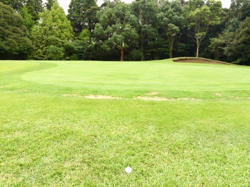 GEN-TENゴルフコースレッスンスコアアップショートゲームグリーン周りのラフの写真