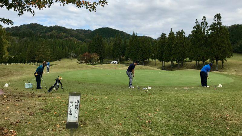 GEN-TENゴルフコースレッスンDC@JOYXGCアプローチエリアの写真