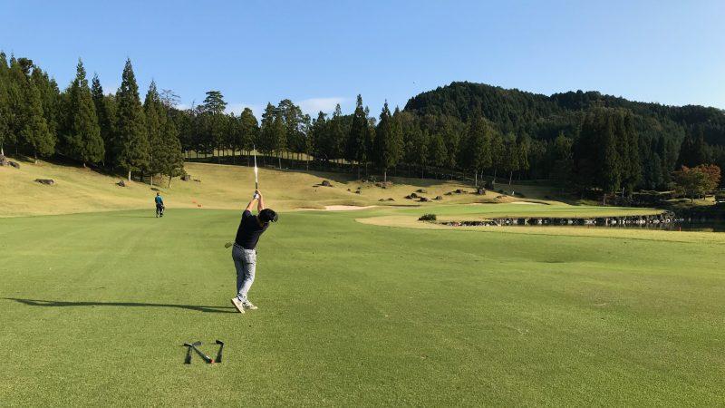 GEN-TENゴルフコースレッスンDC@JOYXGC3番ホールの写真