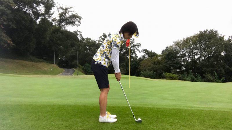 GEN-TENゴルフコースレッスンアプローチアドレスの写真