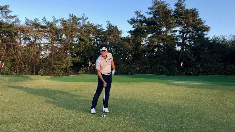 GEN-TENゴルフコースレッスン腰の回転の写真