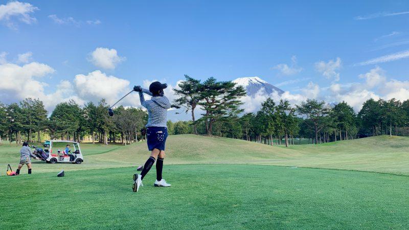 GEN-TENゴルフコースレッスンDC朝霧CCティショットの写真