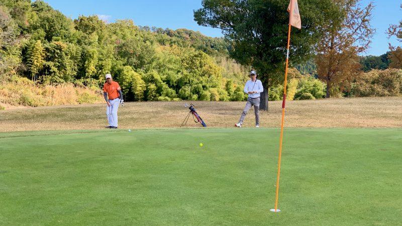 GEN-TENゴルフコースレッスンDCサンコー72CCラウンドアプローチの写真