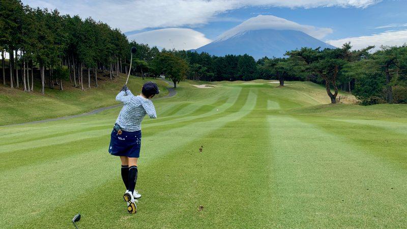 GEN-TENゴルフコースレッスンDC朝霧CCFWショットの写真