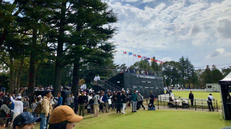 GEN-TENゴルフコースレッスンZOZOチャンピオンシップの写真