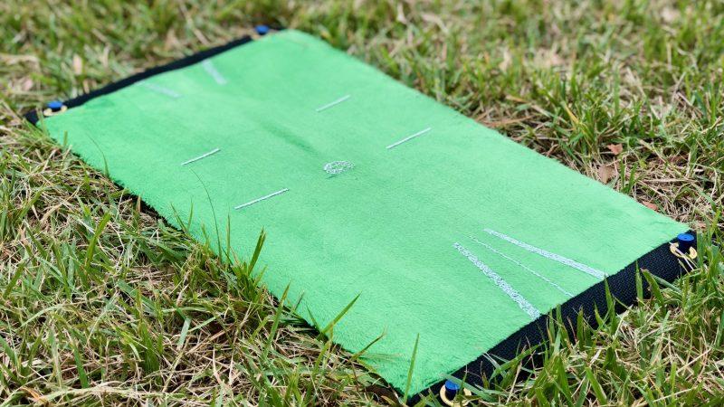 GEN-TENゴルフコースレッスンダウンブローマスターゴルフマットの写真