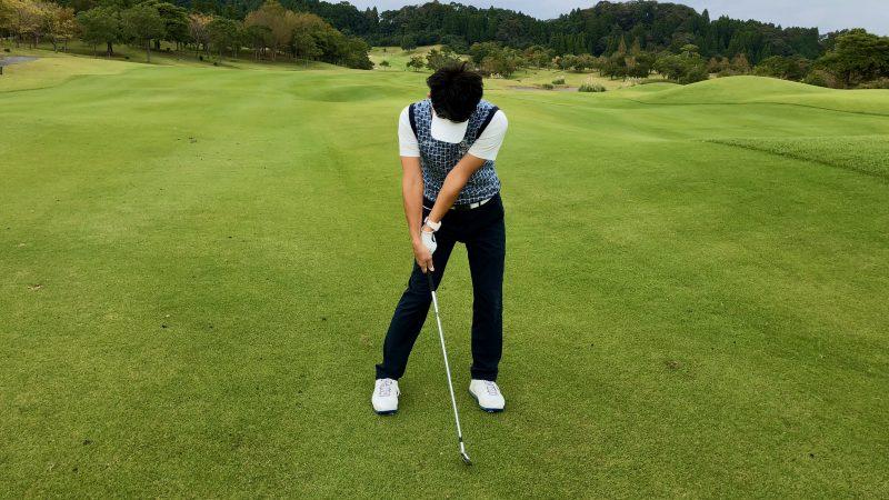 GEN-TENゴルフコースレッスンハンドアクション アーリーリリースの写真