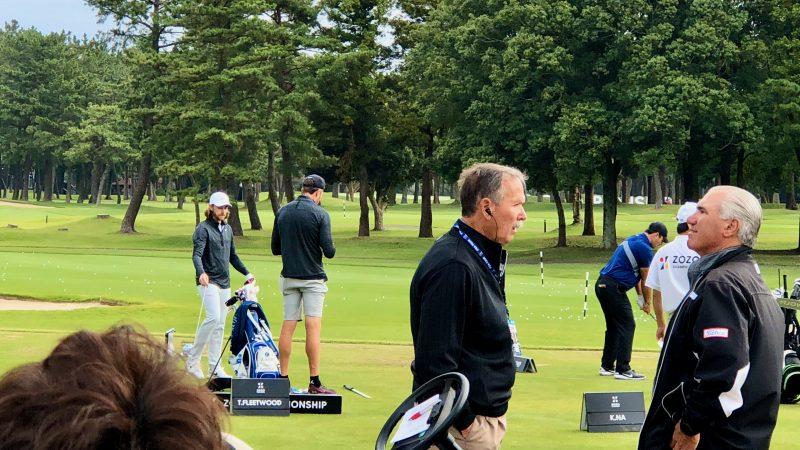 GEN-TENゴルフコースレッスンZOZOチャンピオンシップフリートウッドの写真