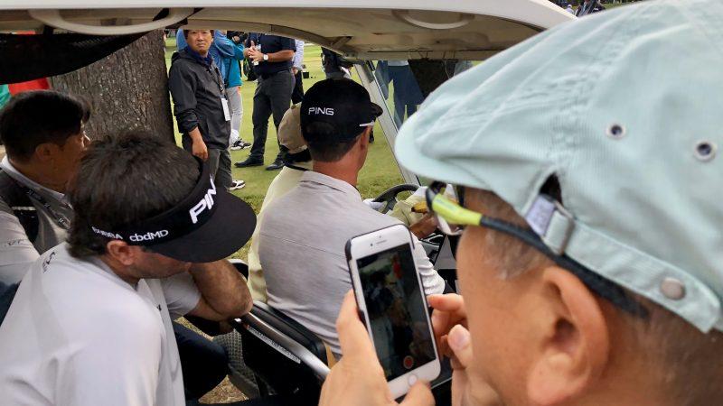 GEN-TENゴルフコースレッスンZOZOチャンピオンシップバッバの写真