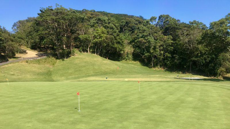 GEN-TENゴルフコースレッスン浜島CCパッティンググリーンの写真