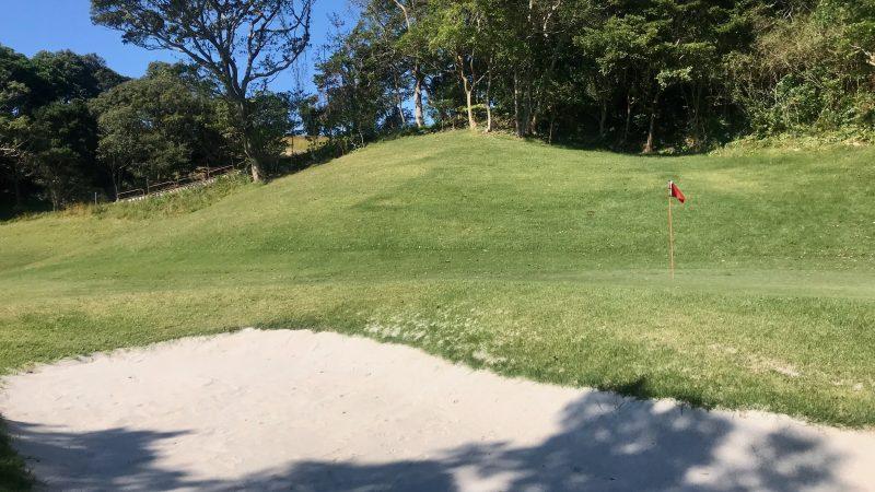 GEN-TENゴルフコースレッスン浜島CCバンカー練習場の写真