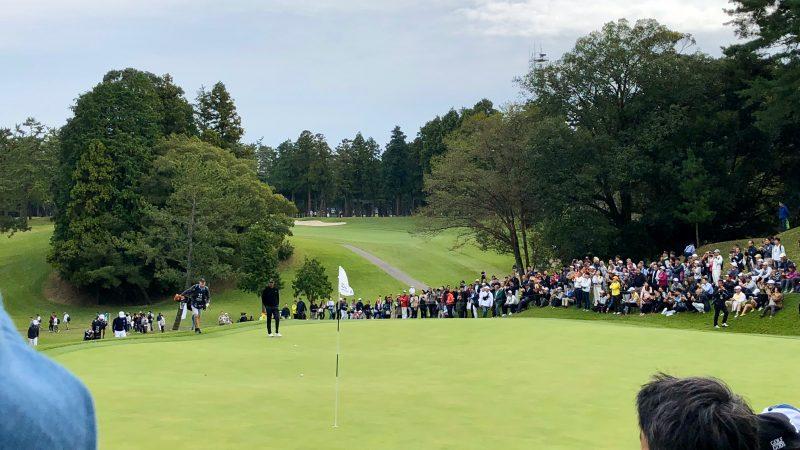 GEN-TENゴルフコースレッスンZOZOチャンピオンシップタイガーパッティングの写真